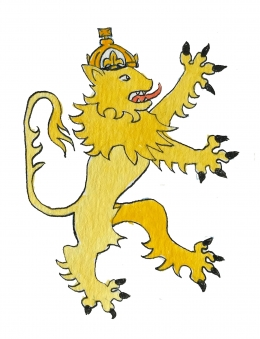 The Crowned Lion of England